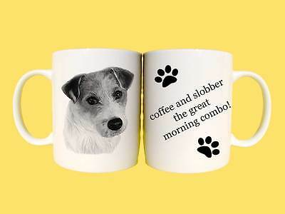 Jack Russell Terrier dog Ceramic mug gift with choice of 6 captions
