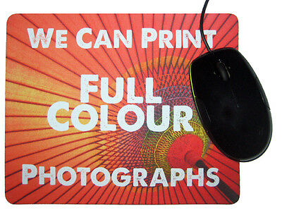 10 Wholesale Bulk Buy Personalised Promotional Mouse Mat Gifts Your Logo Printed