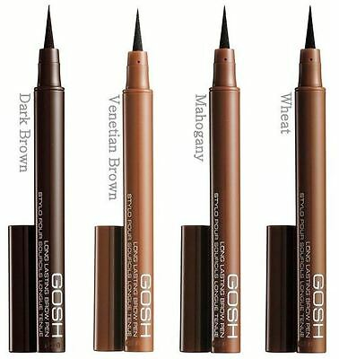BRAND NEW GOSH Eyebrow Pen very long lasting felttip liners - precise brow look