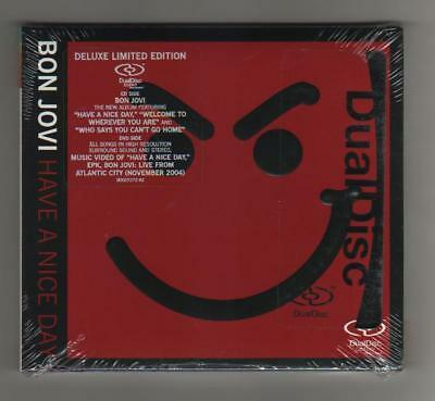BON JOVI - HAVE A NICE  DAY - Dual Disc- Ltd Ed - USA