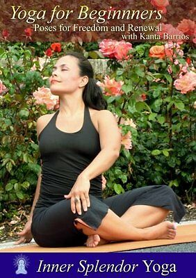 DVD- Yoga for Beginners: Poses for Freedom and Renewal with Kanta Barrios