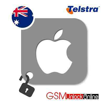 Official Unlocking Service For Telstra Australia iPhone 3GS 4 4S 5 5S SE 6 6S 6S