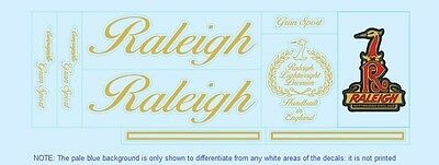 Raleigh Bicycle Decals-Transfers-Stickers #7