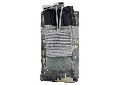 NcSTAR .223 5.56 Digital ACU Single PALS MOLLE Rifle Magazine Open Pouch Holster