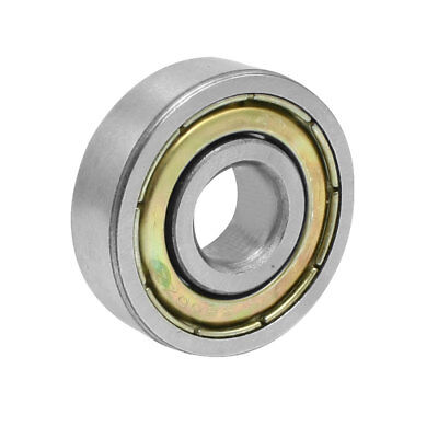 6200ZZ Shielded 10mm x 30mm x 9mm Deep Groove Radial Ball Bearing