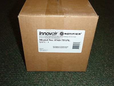 Notifier FSD-751PL Duct Smoke Detector, Complete *Brand New* NOS - NIB