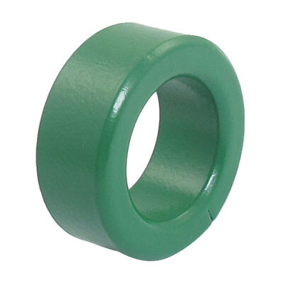 """0.6"""" Thickness Green Iron Core Power Inductor Ferrite Rings Toroid"""