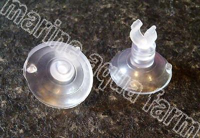 2 x AQUARIUM AIRLINE SUCTION CLIPS, FISH, AIR PUMP, TANK, REEF, INVERT