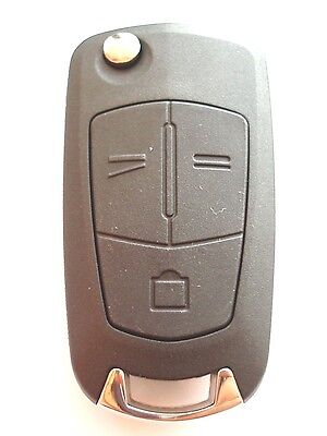 RFC 3 button flip key case for Vauxhall Opel Vectra C Signum remote fob