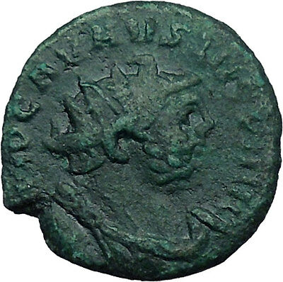 CARAUSIUS Romano British Emperor Quality  Ancient Coin Gaiety Happy i31182