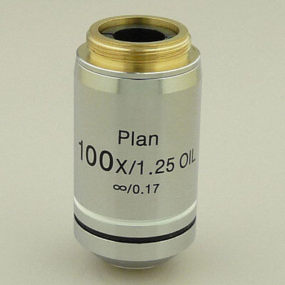 100X (Oil) Infinity Plan Achromatic Microscope Objective Infinite Spring Lens