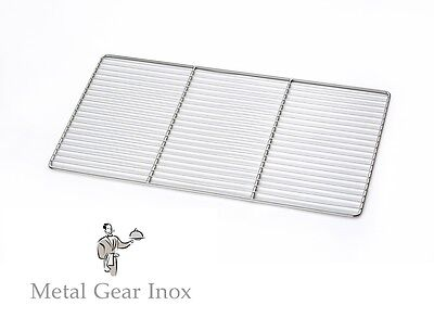 Grilles inox GN 1/1 ( 325 x 530 mm)  ( Lot de 30 ).