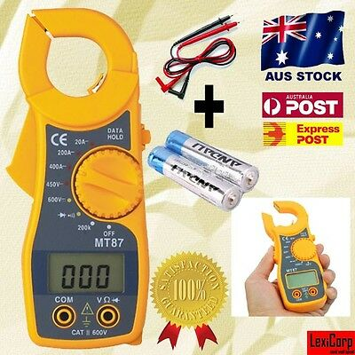 NEW AC/DC Digital Multimeter Electronic Tester Clamp Meter + Beeper, GREAT GIFT