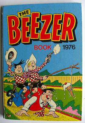 Rare Vintage Uk Annual - The Beezer Book 1976 - Ginger/colonel Blink/smiffy Etc
