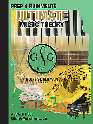 Ultimate Music Theory Prep 1 Rudiments Answer Bk 2nd Ed