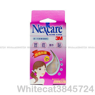 (1Pk) 3M Nexcare Acne Dressing Pimple Stickers Patch Small Circle 40Pcs