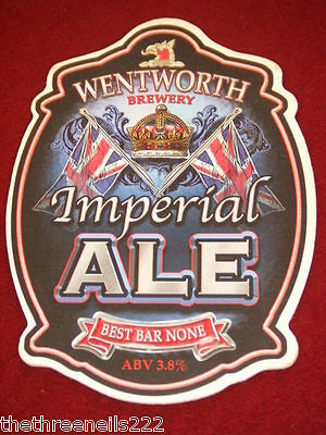 Beer Pump Clip - Wentworth Imperial Ale