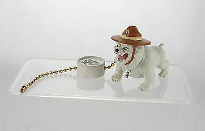 U.S. MARINE Military BULLDOG Mascot Fan Light Pull