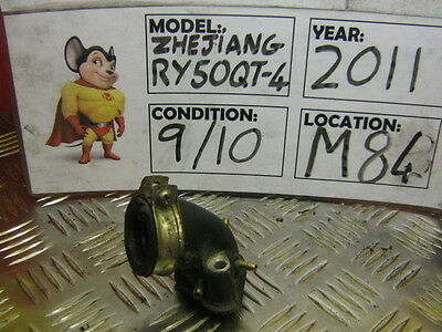 2011 Zhejiang Ry50Qt-4 Inlet Manifold Only 750 Miles  (M84)