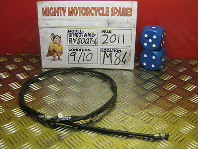 2011 Zhejiang Ry50Qt-4 Rear Brake Cable Only 750 Miles  (M84)