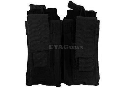 CONDOR Black MA51 MOLLE PALS Kangaroo 5.56 .223 M9 Pistol Magazine Pouch Holster