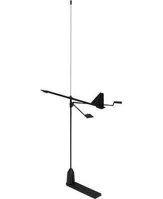 Antenne VHF Marine 3 dBi, V-Tronix YHK  avec girouette, support ,20m cable+PL259