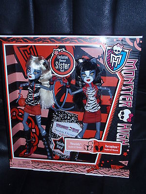 Monster High Doll MEOWLODY & PURRSEPHONE twin sister pack Daughters of a Werecat