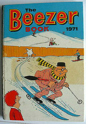 Rare Vintage Uk Annual - The Beezer Book 1971 - Ginger/colonel Blink/little Mo