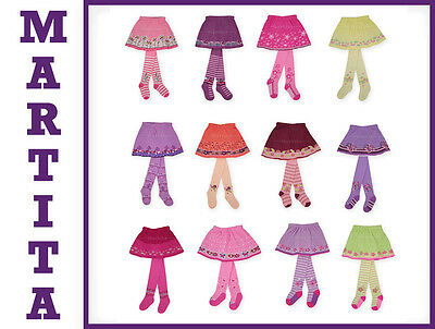 5 x GIRLS TIGHTS EACH WITH SKIRT BNWT WHOLESALE JOB LOT 2,7 £ / piece