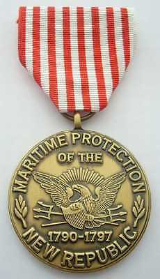 Maritime Protection Of The New Republic Commemorative Medal