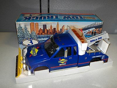 1996 Collector's Edition Sunoco Tow Truck With Snow Plow, Third In Series, Nib