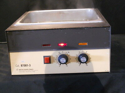 Lab Line American Scientific Products Heated Water Bath Model B7001-3