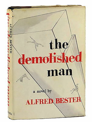 The Demolished Man by ALFRED BESTER ~ SIGNED First Edition 1953 ~ Hugo Award 1st