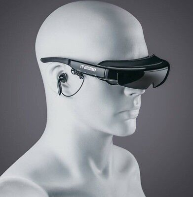 "NEW iTVGoggles Smart 92"" Virtual WideView 3D+ Video Glasses iTV Goggles"