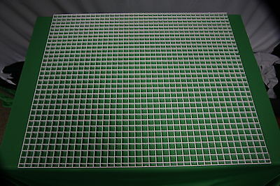 White EggCrate  600mm x 600mm 2ft x 2ft Coral frags egg crate