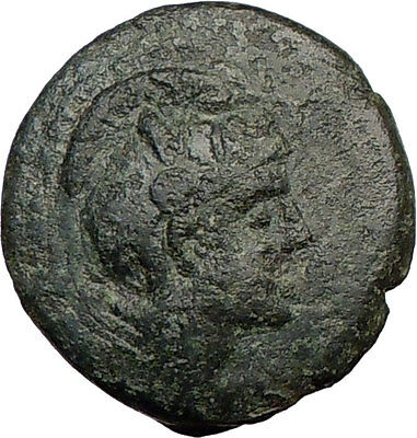 PELLA  168BC Ancient Authentic Greek Coin BULL  i21857