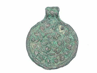 Rare Viking big neck pendant in the form of coins.  c 9-10 century AD