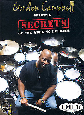 Gordon Campbell Presents Secrets of the Working Drummer DVD