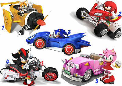 Sonic Sticker Wall Decal Or Iron On Transfer Tshirt Fabrics Amy Knuckles Lot Sc