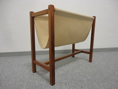 Teak 60's News Rack  Danish Modern