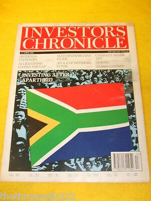 Investors Chronicle - After Apartheid - April 1 1994