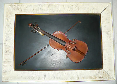 Antique Violin String Instrument & Bow