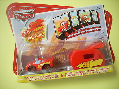 CARS MINI C/RIMORCHIO DISNEY PIXAR SAETTA