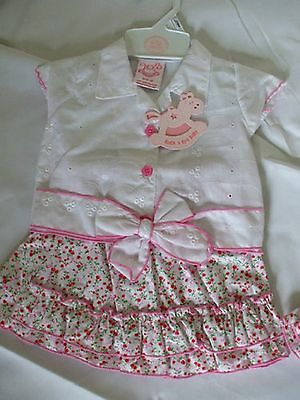 Rock A Bye Baby, 2-Piece Top/skirt Outfit Bnwt, 3-6 Month Other Sizes Available