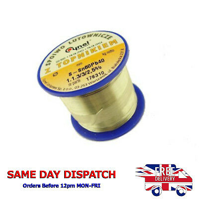 HIGH QUALITY TIN LEAD SOLDER WIRE CYNEL  60/40 flux SW32  Multi-Listing