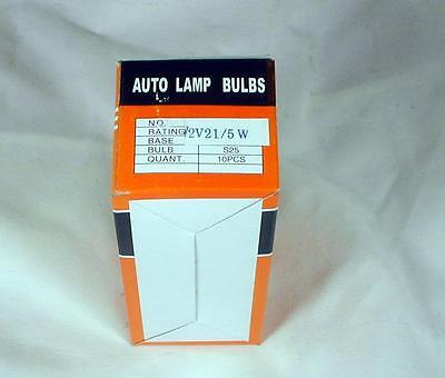 Sym 12V 21/5W Stop/Tail Light Bulbs Twin Filament - Box of 10 Q1225