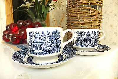 Churchill Made in England Cups & Saucers