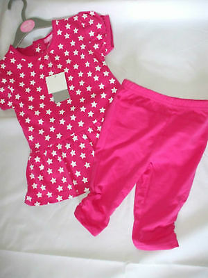 Minoti, Dress & Leggings  Age 18-23 Months Pink ,other Colours Available