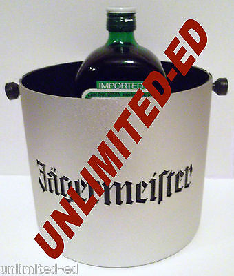 Jagermeister Ice Bucket - BRAND NEW - FREE PRIORITY MAIL SHIPPING Jager