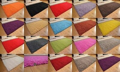 Shaggy Rugs Runners Soft Non Shed High 50 mm Deep Pile Stain Resistant Premium